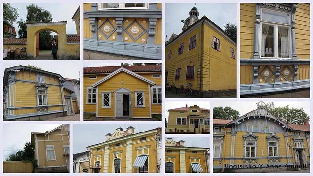 Rauma-talot-keltaiset