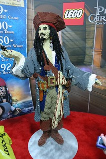 LEGO Captain Sparrow Statue at the LEGO booth - San Diego Comic Con - 1 | by fbtb