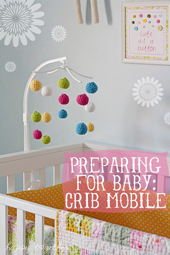Crocheted Crib Mobile | by ohsohappytogether