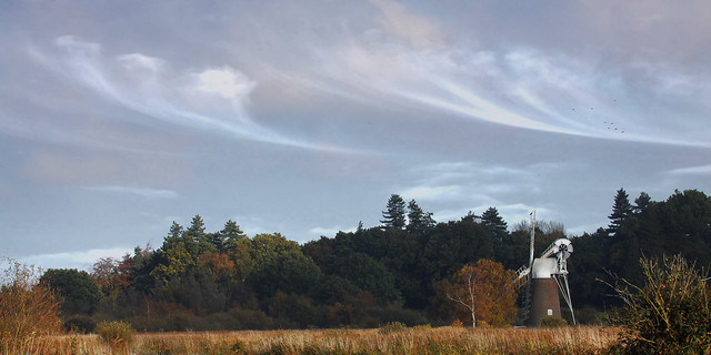 autumn morning at how hill