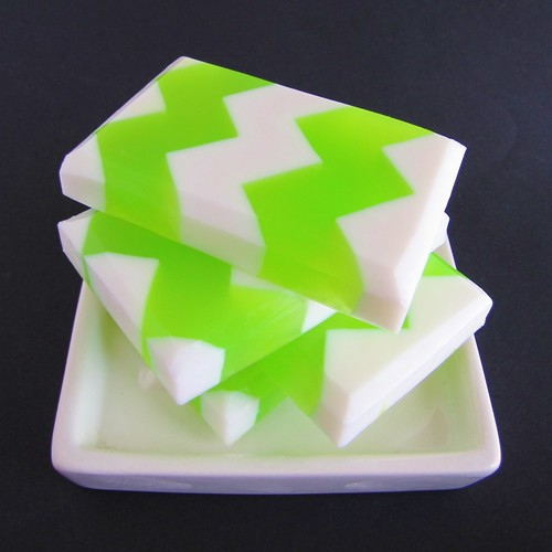 Chevron Soaps | by soapylovedeb