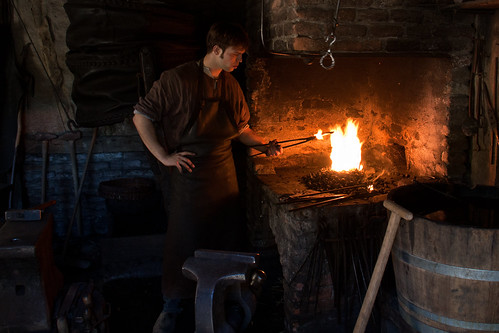 medieval blacksmith | by hans s