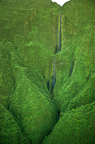 "Maui Waterfalls - Honokohau Falls | by IronRodArt - Royce Bair (""Star Shooter"")"