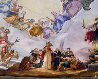 Apotheosis of Washington: Science | by USCapitol