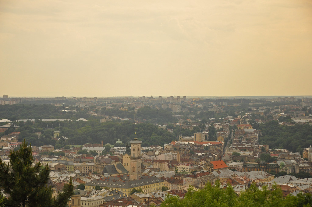 Things to do in Lviv - view from Lviv High Castle