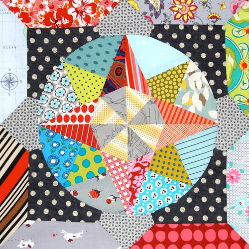 Amitie BOM the circle game | by Lynne @ Lilys Quilts