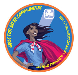 Girls For Safer Communities Badge | by Girl Guides of Canada