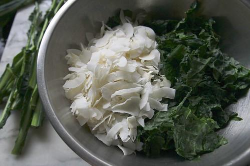 kale salad w/coconut & sesame oil | Flickr - Photo Sharing!