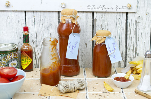 Homemade spicy ketchup | by bognarreni