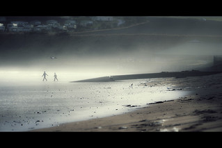 St Andrews - foggy beach | by t4tO_
