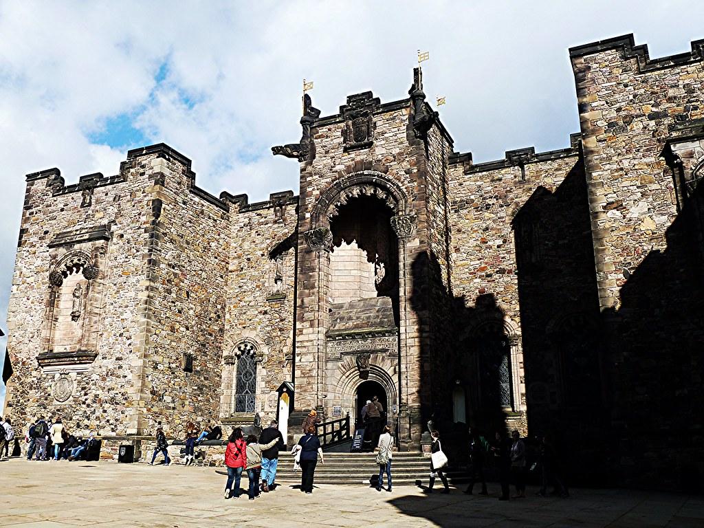 Scottish National War Memorial, Edinburgh Castle, Scotland.