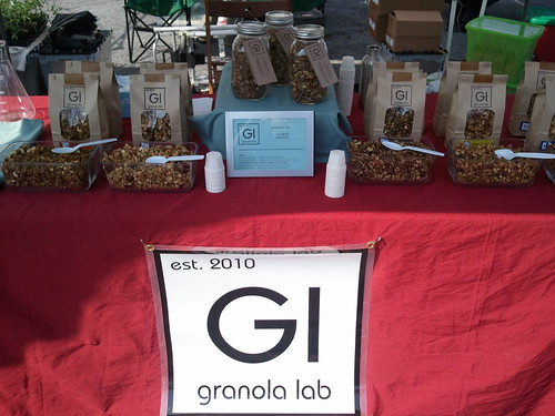In the shade at Smorgasburg | by Granola Lab