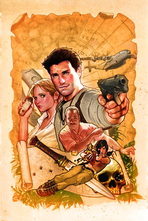 UNCHARTED comic by DC Comics | by PlayStation.Blog