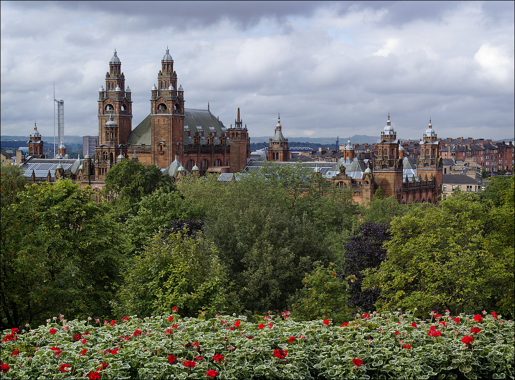 Roofscape, Kelvingrove Museum and Art Gallery, Glasgow