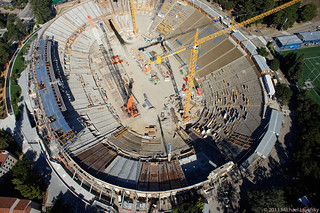 Memorial Stadium renovation and seismic retrofit | by Michael Layefsky
