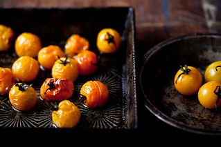 Roasted Yellow Cherry Tomatoes | by tartelette