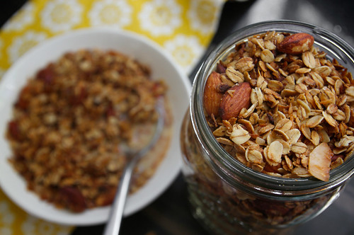 coconut maple granola | by shutterbean