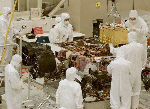 Installing SAM Instrument into Curiosity Mars Rover | by NASA Goddard Photo and Video