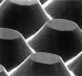 Microscopic view of photopolymer plate surface | by bielerpr