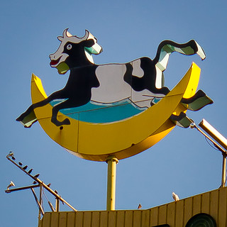The cow jumped over the moon | by Jeff Boyd