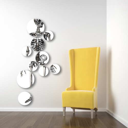 white corner room with yellow chair | by outahandman