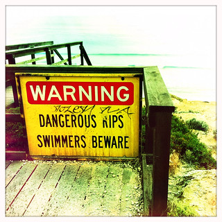 Watch out for the rip. Berry Bay North. Day 316/365. | by Jaycee1