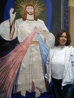 Threads of Life - Jesus Quilt | by KQED News