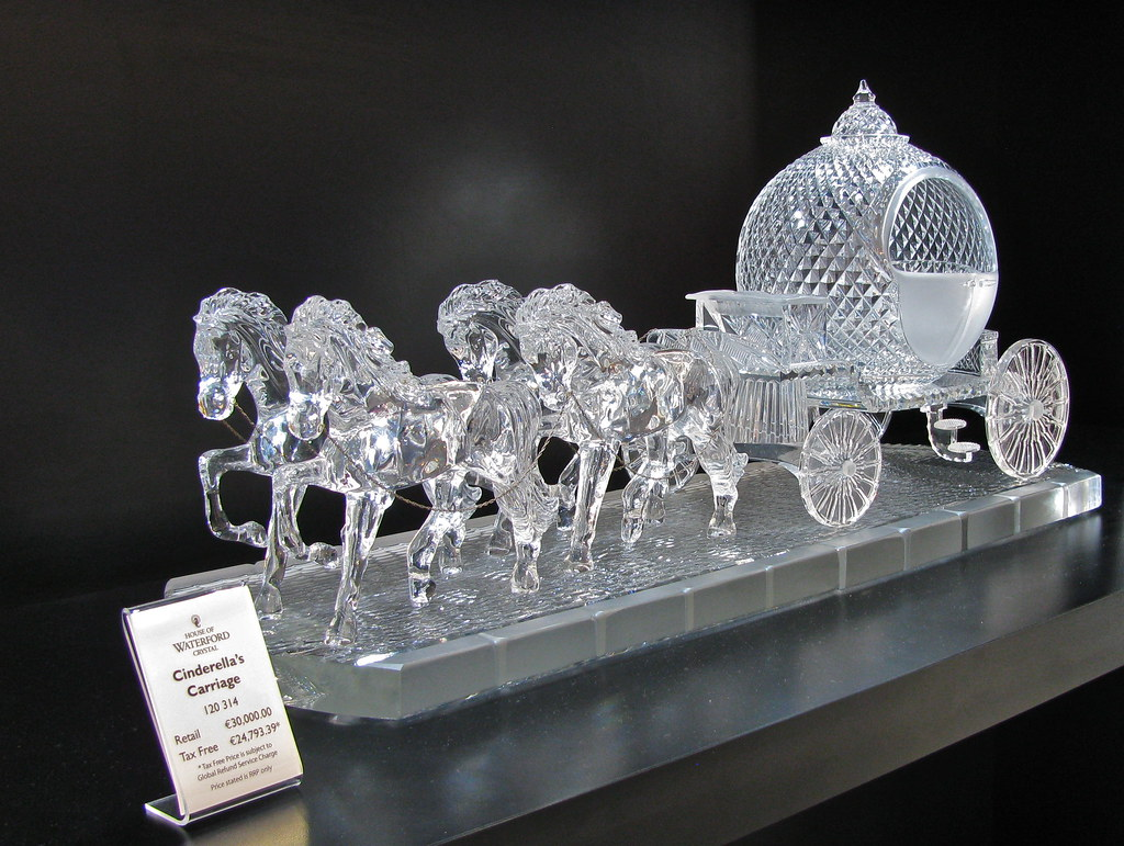 how to tell waterford crystal