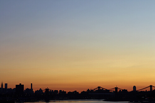 nyc skyline | by David Lebovitz