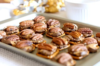 Pretzel rolo turtles | by Hungry Housewife