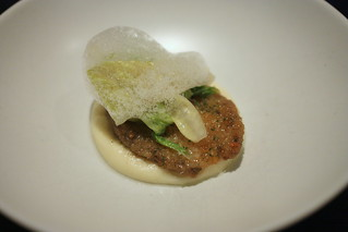 Abalone, Potato, Caper, Lettuce | by Kung Food Panda