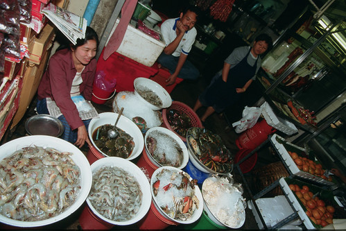 Fish Market, Vietnam. Photo by Dominyk Lever, 2004.