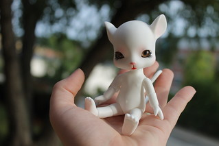 262/365- Eeek I'm holding a mouse | by pullip_junk