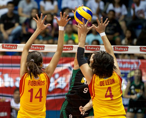 Philippine Army takes game one of Shakeys V-League Volleyb ...