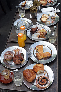 pastries at Bourke Street in Sydney | by David Lebovitz