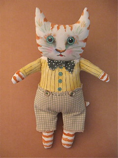 cat art doll | by Sandy Mastroni