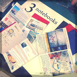 3. Pick your notebooks. Scrap diary, recipe book, travel etc. BTS2011, anticipating setup tonight | by Patrick Ng