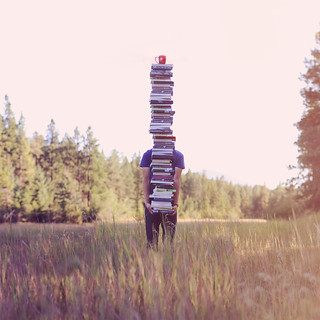 A Stack Of Books Meant To Be Read Aloud | by Boy_Wonder