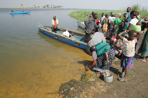 A small-scale fishery in Zambia