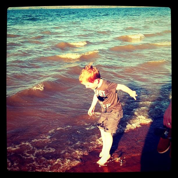 Little redhead. Eufaula, Oklahoma