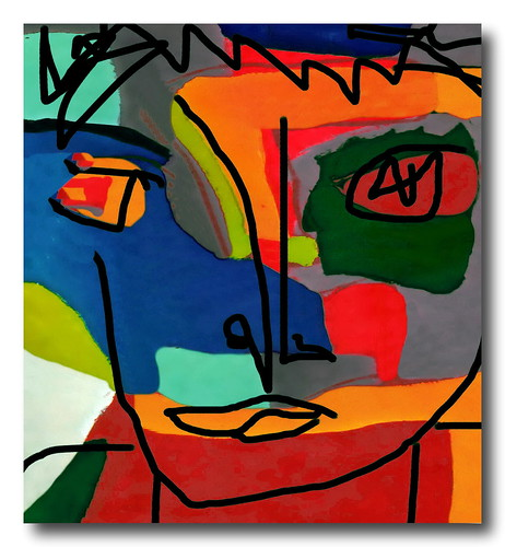 Homme #5 (Homage to Karel Appel) | by David Lewis-Baker