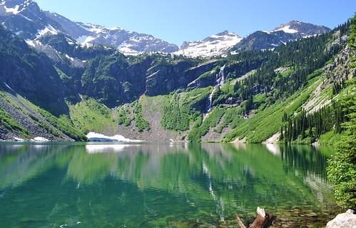 Rainy Lake - photo courtesy of Leigh Langman - North Cascades National Park, Washington