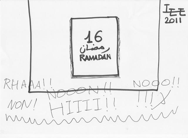 Après le 15 Ramadan...PANIQUE !