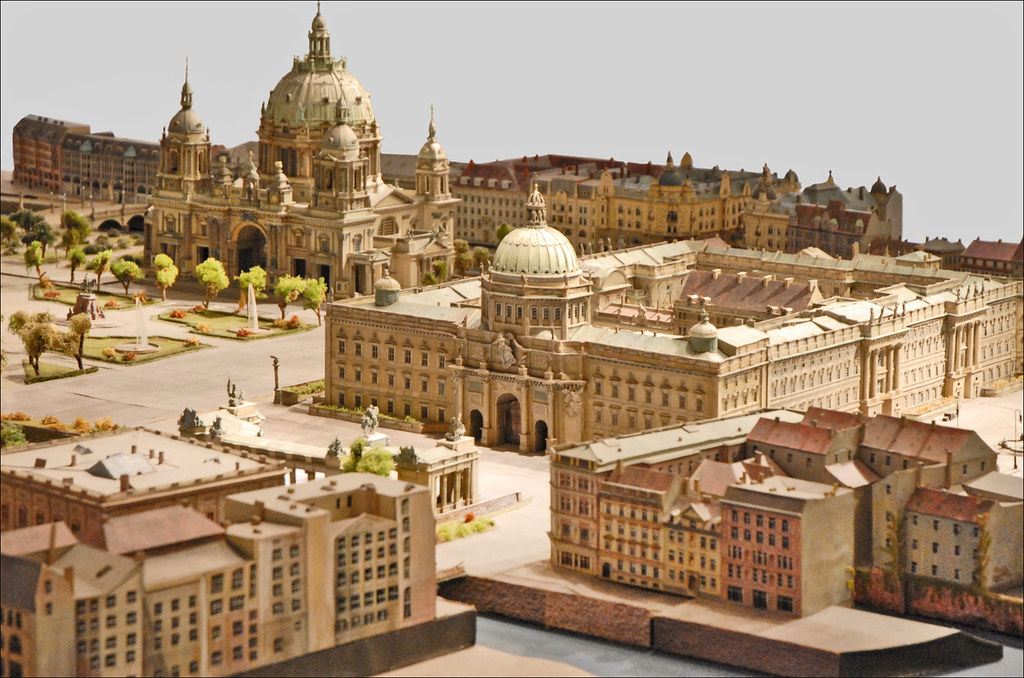 Maquette du centre de Berlin en 1900 (Humboldt-Box, Berlin) - Photo de Jean Pierre Dalbéra.