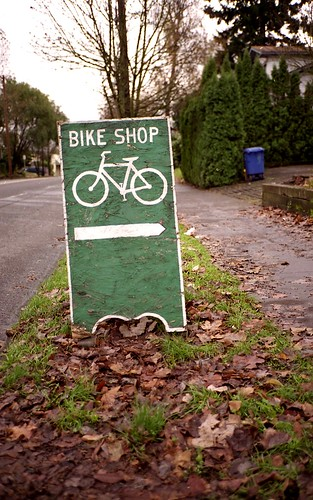 Bike Shop this way! | by chicken strip