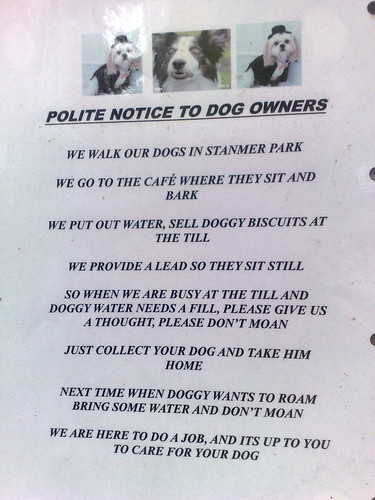 "Nobody does a ""polite notice"" quite like the Brits 
