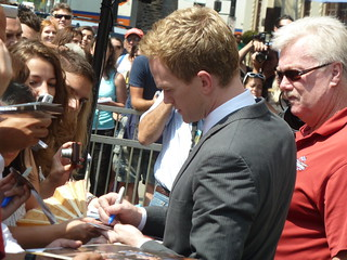 Actor Neil Patrick Harris signs autographs for fans after his Star was on unveiled on the Hollywood Walk of Fame | by jeff_soffer