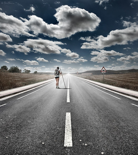 The Road Never Ends | by Ben Heine
