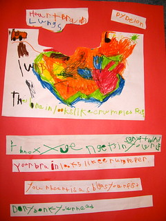 Deion's Heart, Lungs and Brain Project | by Kathy Cassidy