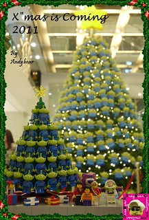 The Little Green Men Xmas Tree | by andybear@hk